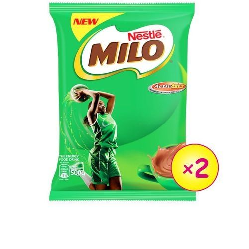 Milo Hot Chocolate Refill - 500g (X2)