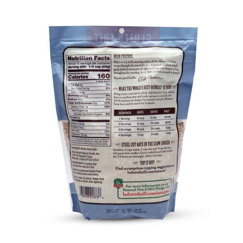Bob'S Red Mill Gluten Free Steel Cut Oats - 680g | Jumia ...
