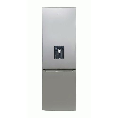 264 LTRS Refrigerator With Bottom Freezer & Water Dispenser - Silver