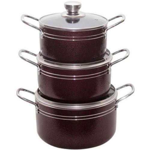 3pcs Non-Stick Pots -