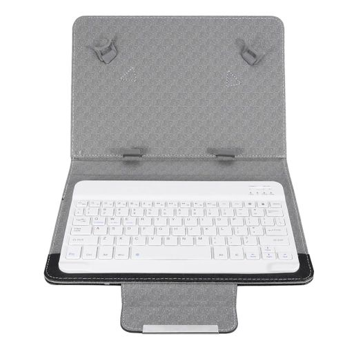 10'' Tablet Laptop Universal PU Protective Case Cover With Bluetooth Keyboard Set For Android