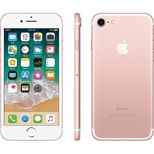 Iphone 7 32gb Rose Gold With Free Pouch And Tempered Glass