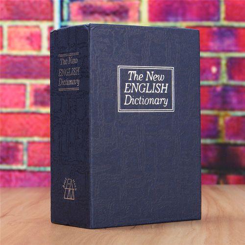 Mini Security Dictionary Book Safe Storage Box Lock Hidden For Cash Jewellery UK