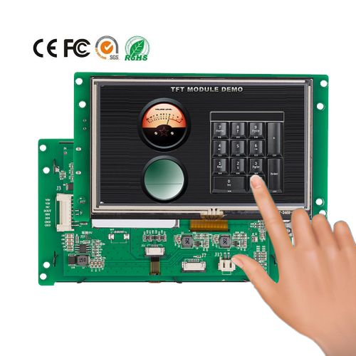 """Embedded Smart 5.0"""" LCD Touch Screen For Medical Equipment"""