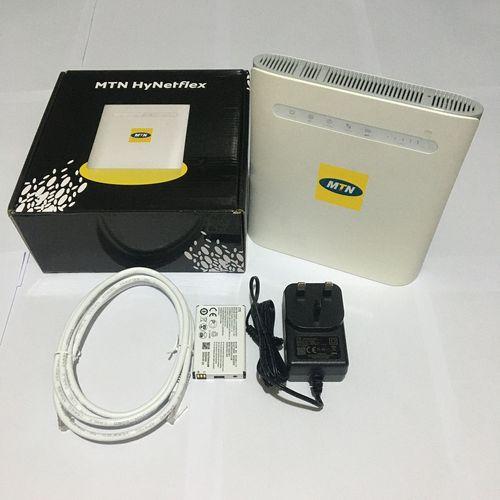 MTNnHyNetFlex 4G LTE Router With 120 Gig Bonus Data Sim Card
