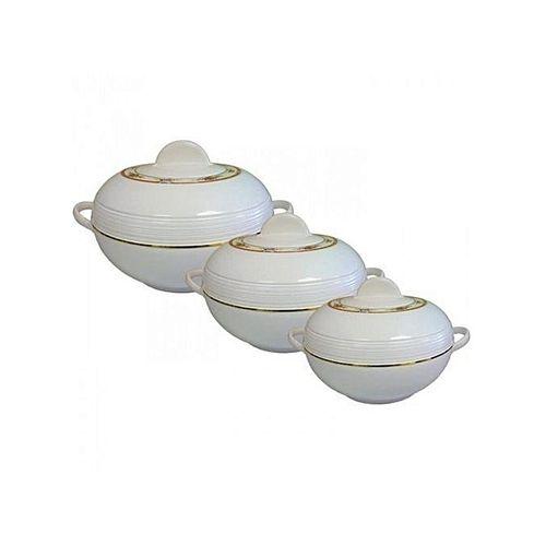 Insulated Casserole Food Warmer/Serving Set - 3 Piece Set
