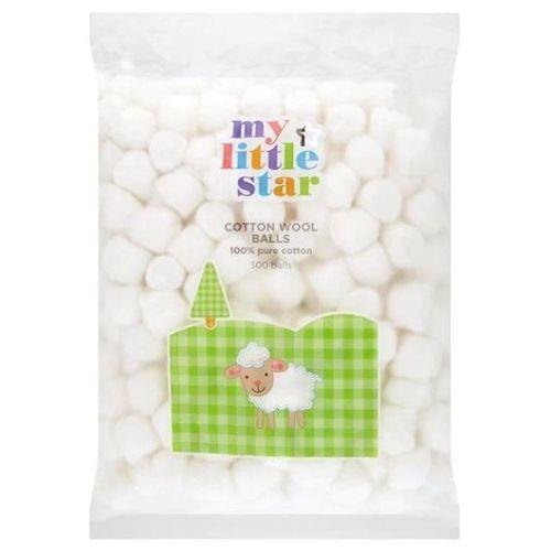 My Little Star Cotton Wool Balls Pack 300balls