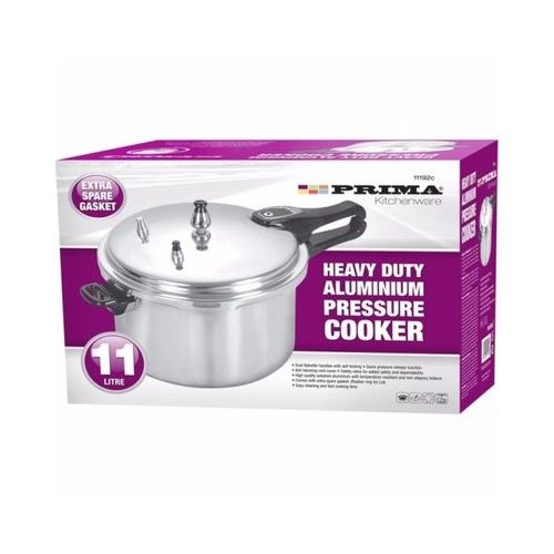 Heavy Duty Aluminium Pressure Cooker 11 Liter