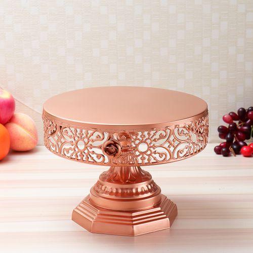 Wedding Round Crystal Cake Stand Cupcake Display Dessert Holder Event Party