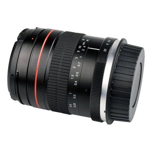 35mmF1.4 Micro Single Manual Zoom Lens Large Aperture Manual Focus Lens Black