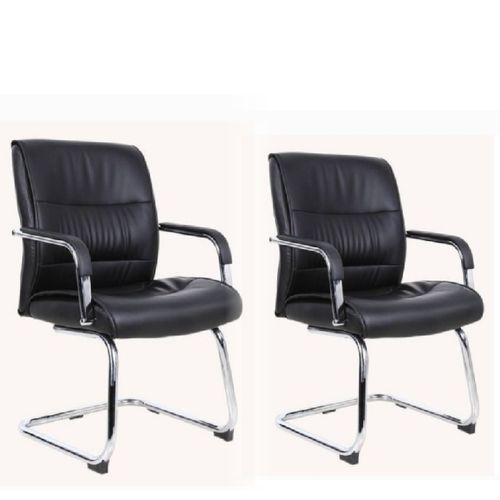 Office Visitor Chair With Padded Armrest (Z107V) - Park Of 2