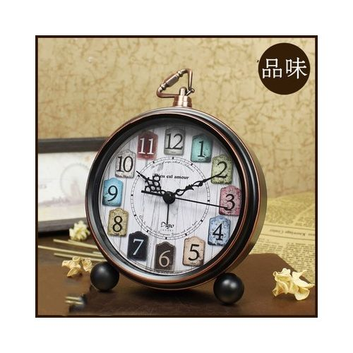 Desktop Clock Ornaments Living Room Bedside Alarm Clock
