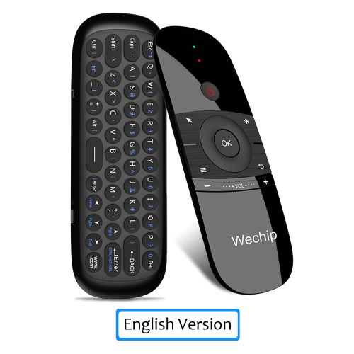 WeChip W1 Russian/English MINI Air Mouse Keyboard 2.4G Mention Sensing Fly Air Mouse For Android TV Box/PC/TV WOEDB