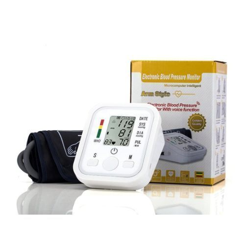 Blood Pressure Monitor Electronic Automatic Sphygmomanometer