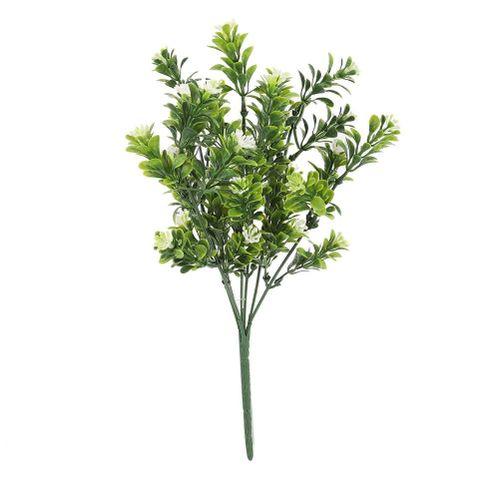 10pcs Artificial Bluegrass For Artificial House Decoration Decorative Plants Greenery Bushes Flower Home Office Decor