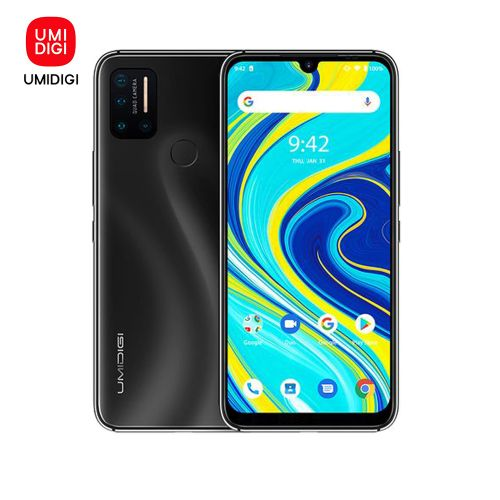 A7 Pro 6.3-Inch (4GB RAM,64GB ROM) Android 10.0,(16MP+16MP+5MP+5MP)+16MP Dual 4G LTE+SD Smartphone -Cosmic Black
