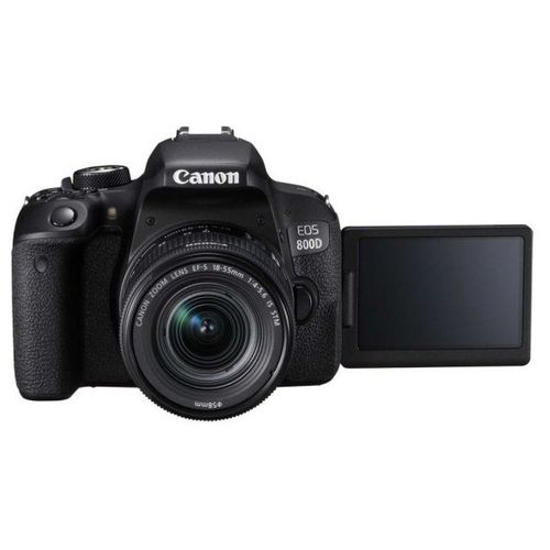 EOS 800D Digital SLR Camera Kit With EF-S 18-55mm Lens