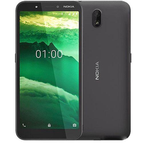 C1 5.45-Inch Screen, Android 9 Pie, 1GB RAM + 16GB ROM, 5MP + 5MP Camera, 2500mAh Battery Dual SIM Smartphone - Charcoal