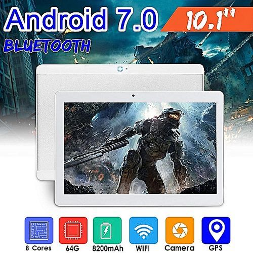 New 10.1'' Android Phone Tablet PC HD WIFI Bluetooth 2 SIM