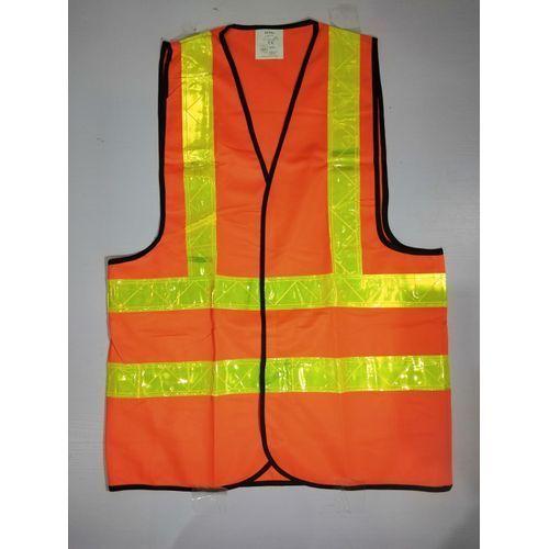Reflective Safety Vest Premium Brand - Orange.