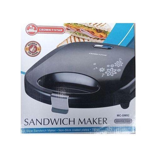 2 Slice Sandwich Maker-