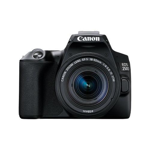 EOS 250D DSLR With 18-55 STM Lens + Articulating Screen + 4K