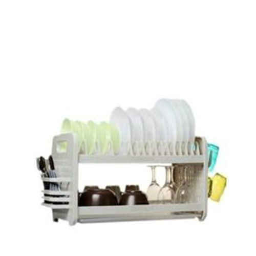 Dish Drainer With 2 Layers