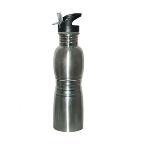 Stainless Water Bottle-silver