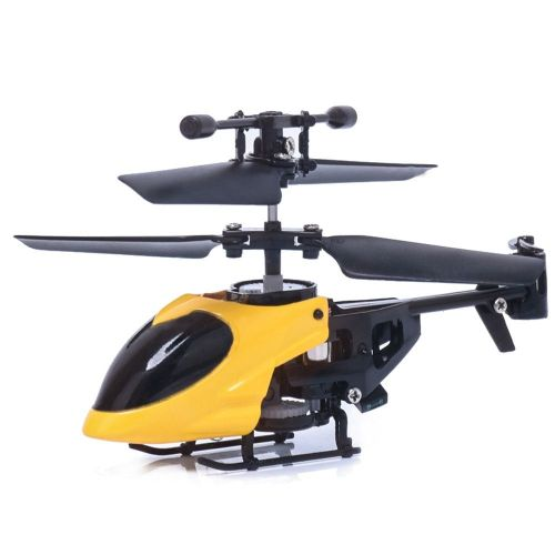 RC 5012 2CH Mini Rc Helicopter Radio Remote Control Aircraft Micro 2 Channel Yellow