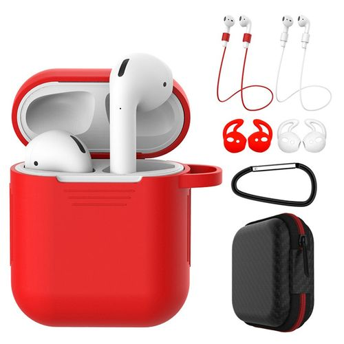 7 In 1 Strap Holder Silicone Case For Apple Airpods Earpods Accessories R15