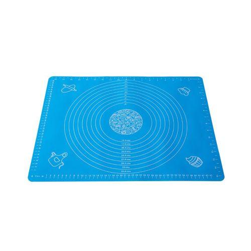 40X50CM Non-Stick Silicone Baking Mat Pad Sheet Rolling Dough Blue