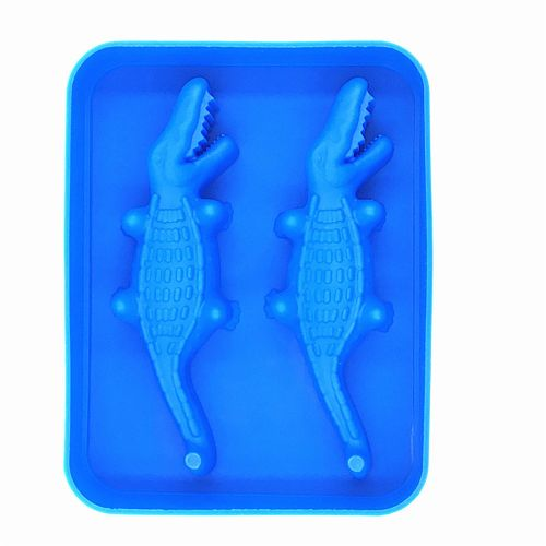 Crocodile Shape Ice Lattice Freeze Ice Tray Pudding Jelly Maker Mold Ice Cube