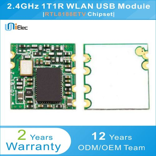 RTL8188ETV 150Mbps 2.4GHz Wireless WLAN USB Module RTL8188 PCBA Windows XP Linux Android IOS WIN7 WiFi Board( )