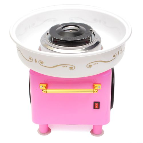 Portable Electric Candy Floss Making Machine Cotton Candy Maker DIY Home