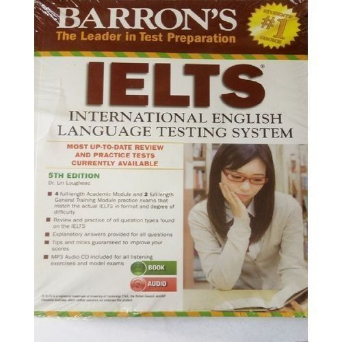 Barron's IELTS With MP3 CD, 5th Edition
