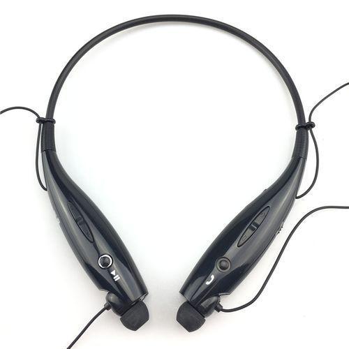 HBS-730 Wireless Bluetooth Earpieces Headset - Black