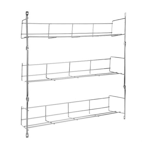 Kitchen Spice Rack Cabinet Organizer Wall Mount Storage Shelf Pantry Holder