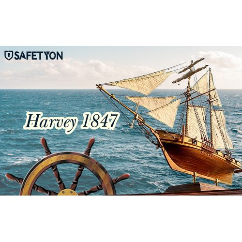 DIY Scale Wooden Ship Sailboat Assembly Model Boat Home Decor