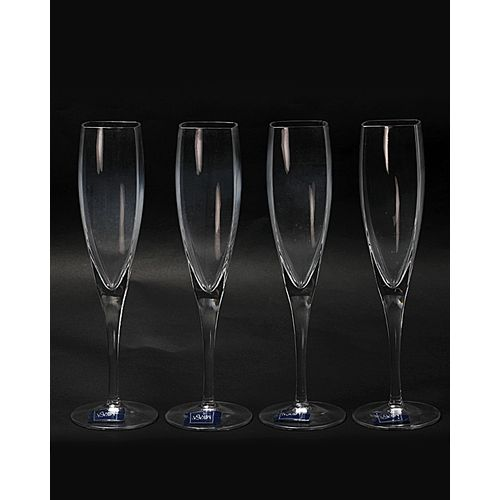 4 Pieces Of Crystal Glass Cup - (Panache )