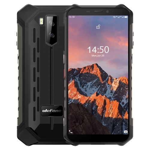 Armor X5 Pro Rugged Phone, 4GB+64GB, 5000mAh Battery, 5.5 Inch Android 10.0, Network: 4G(Black)
