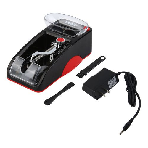 Home-Mini Automatic Cigarette Rolling Machine Electric Automatic Tobacco Roller*red