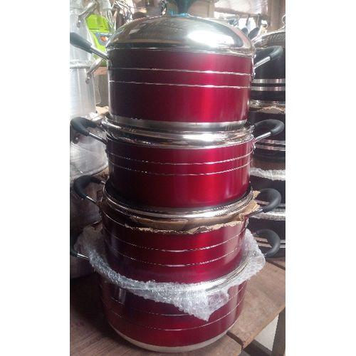 Mega Size Aluminium Non-stick Sauce Pot Set