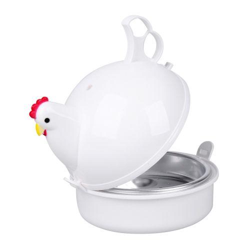 Microwave 4 Eggs Boiler