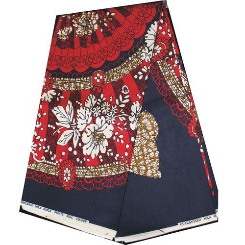 Tessyglance Ankara Flower Design Pattern High Quality African Print Wax Traditional Wrapper Native Fashion Fabric