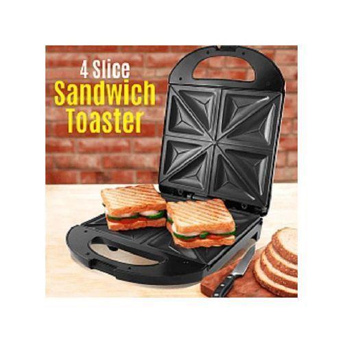 Portable 4 Slice Sandwich Toaster