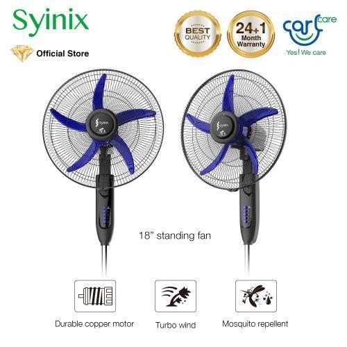 "18"" Standing Fan FSS18N-503 - Mosquito Repellent"