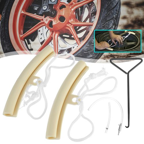 Motorbike Alloy Changing Wheel Rim Protector Tyre Universal Motorcycle Car Wheel Rim Soft Protector Tyre Remove Edge Protection