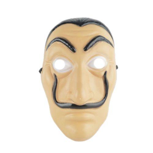 Face Mask La Casa De Papel Mask Salvador Dali Mascara