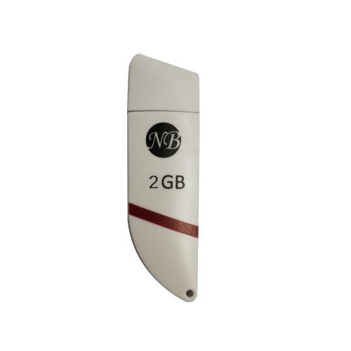 2GB NB004 USB Flash Drive–White