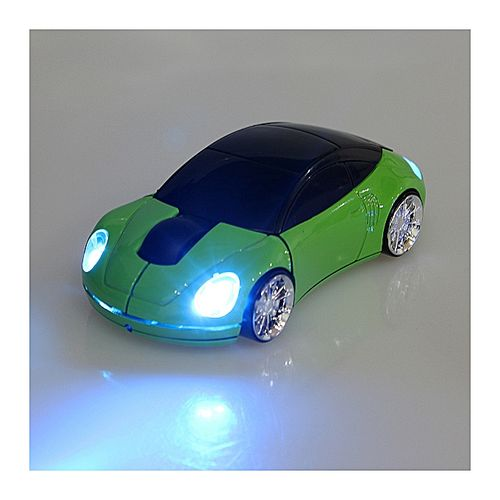 3D Wireless Optical 2.4Ghz Car Shaped Mouse Mice 1600DPI USB